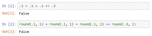 Jupyter Notebook Python - Precisión de Decimales