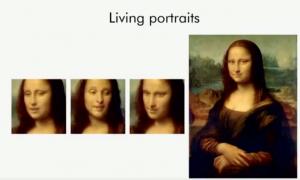 Generative adversarial networks - ejemplo sobre living portraits