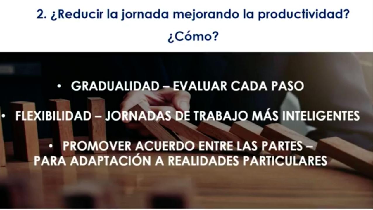 Reducción de la jornada laboral y la transformación digital en Chile