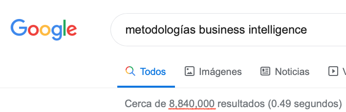 Metodologías BI